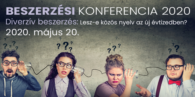 Beszerzési konferencia 2020