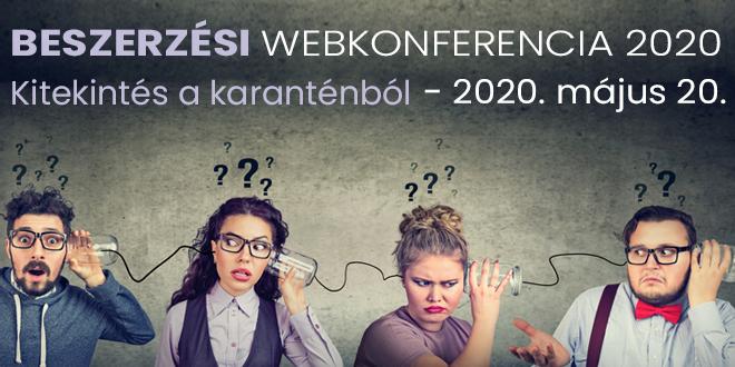 Beszerzési Webkonferencia 2020