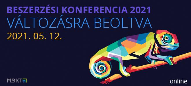 Beszerzési Konferencia 2021 – Változásra beoltva