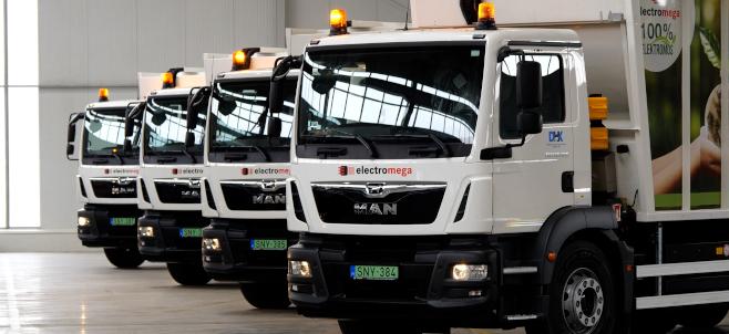 E-forradalom a hulladékgyűjtésben és a logisztikában